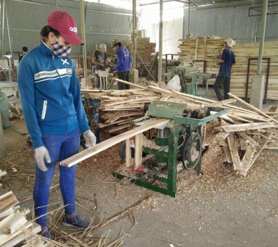 quy trình sản xuất pallet gỗ nhanh nhất